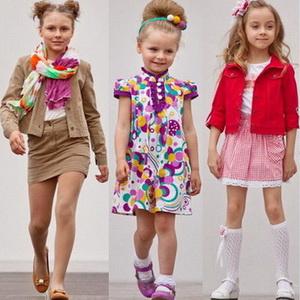 Детская мода лето 2015